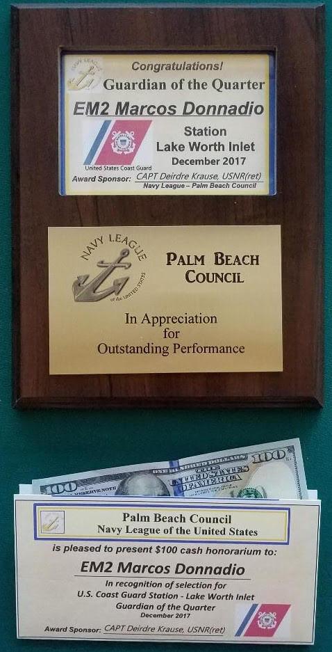 2018 Award Sponsorship Opportunities – Navy League Palm