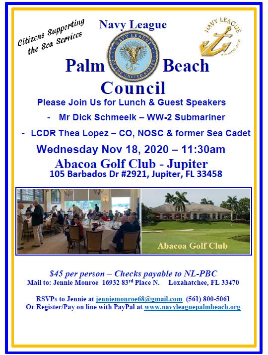 November 18 2020 Luncheon